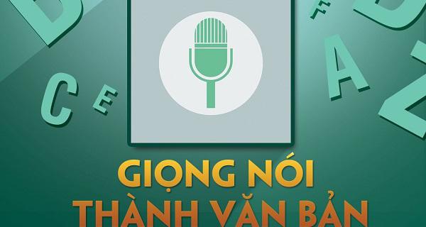 Phần mềm chuyển đổi giọng nói thành văn bản giúp việc nhập văn bản trở nên dễ dàng hơn
